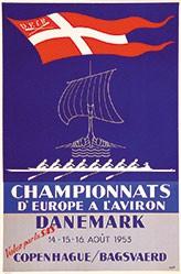 Noll - Championnats d'Europe à l'Aviron