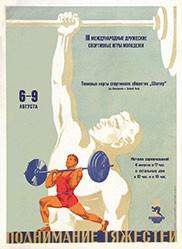 Anonym - Gewichtheben