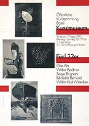 Hiltbrand Robert - Fünf 33er - Kunstmuseum Basel