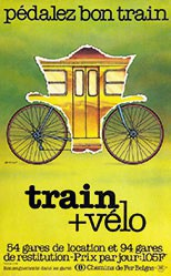 Lefevre Yves - Train & Velo - Pédalez bon train