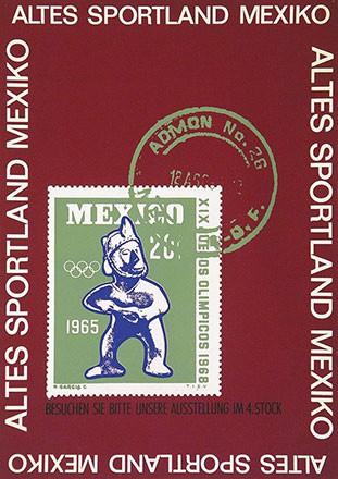 Anonym - Altes Sportland Mexiko