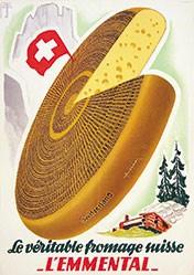 Jäggi + Wüthrich - Le véritable fromage suisse l'Emmental