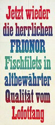 Anonym - Frionor Fischfilets