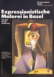 Gomm Albert - Expressionistische Malerei in Basel