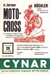 Anonym - Zürcher Moto-Cross Höckler