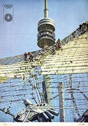 Rauchwetter (Foto) - Olympische Spiele München