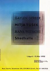 Dave Mink - Gerber / Tusek /  Witschi - Shedhalle