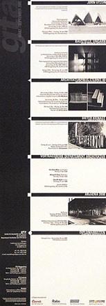 Anonym - Architektur Ausstellungen (gta)