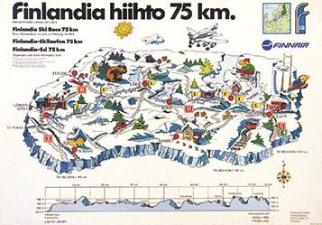 Savypaino Oy - Finlandia hiihto 75km - Langlauf