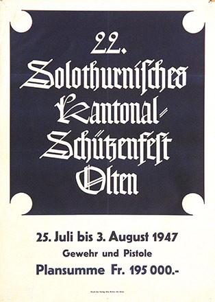 Anonym - 22. Solothurner