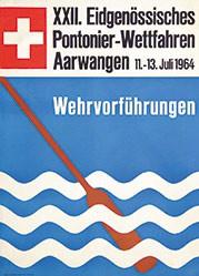 Gerber Max - Eidgenössisches Pontonier-Wettfahren