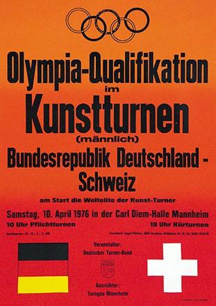 Anonym - Olympia-Qualifikation Kunstturnen