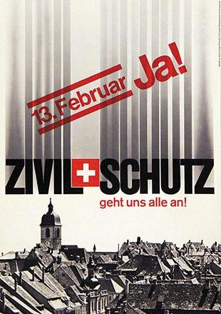 Jaggi Moritz S. / Knapp W. (Giegel) - Zivilschutz Ja!