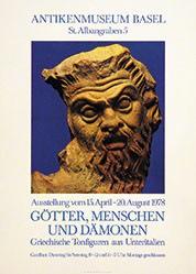 Gloor Erwin - Götter, Menschen und Dämonen