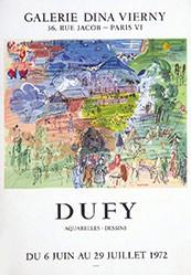 Anonym - Dufy - Galerie Dina Vierny