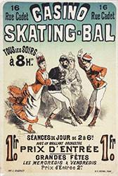 Chéret Jules - Skating-Bal