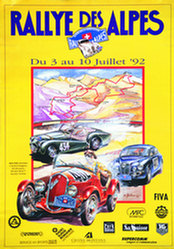 Bührer W. - Rallye des Alpes