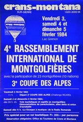 Anonym - Rassemblement de Montgolfières