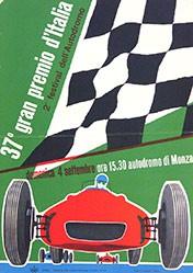 Huber Max - 37e gran premio d'Italia