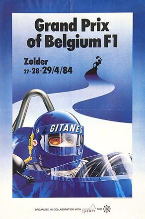 Leroy Patrice - Grand Prix of Belgium F1