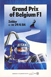 Leroy Patrice - Grand Prix of Belgium F1