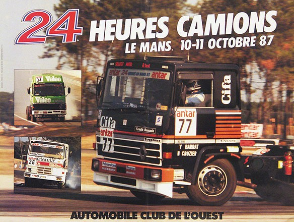 Anonym - 24 heures du Mans Camions