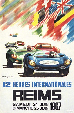 Belligond Michel - 12 heures Internationales Reims