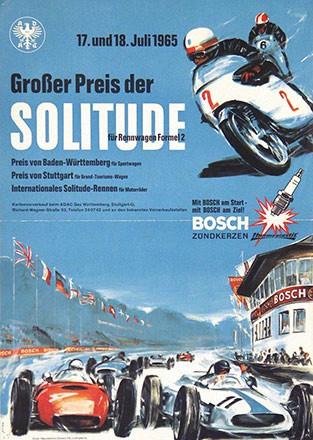 Monogramm PB - Grosser Preis der Solitude