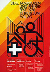 Berlinger B. - Eidg. Tambouren- und Pfeifer-Fest