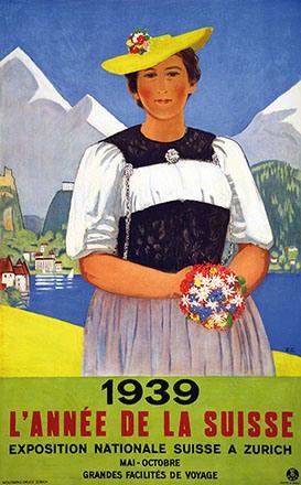 Cardinaux Emil - L'année de la Suisse