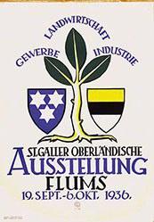 Blöchlinger A. - St. Galler Ausstellung Flums