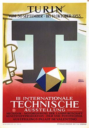 Genova & Beccaria - Technische Ausstellung Turin